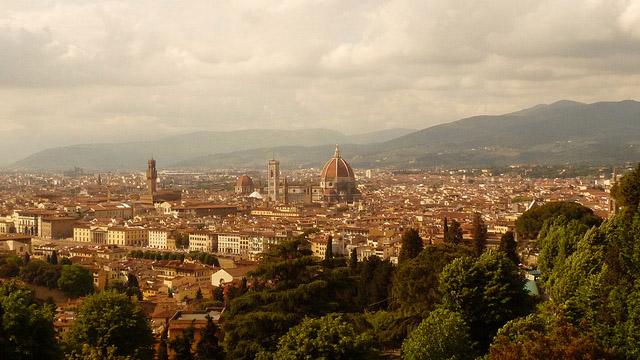 La ville de San Miniato dans la région de Toscane