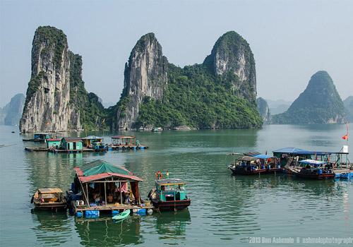 baie d'halong vietnam | Ben Ashmole - CC