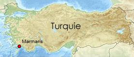 Carte de Turquie | wikipedia.org - cc