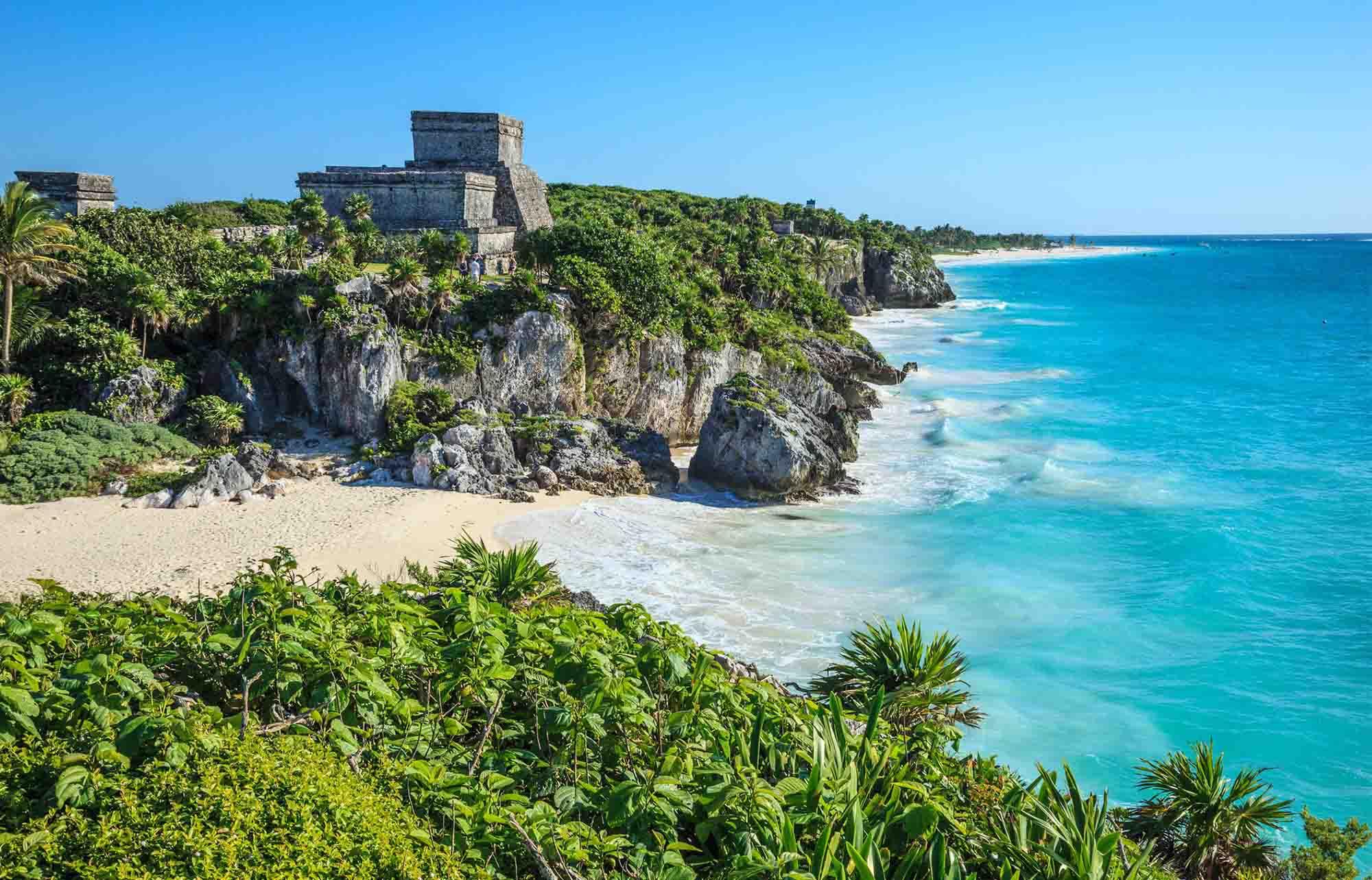 La cité maya de Tulum, une merveille en bord de mer !